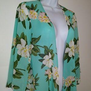 DNA Couture Kimono / Swim suit Cover-up EUC
